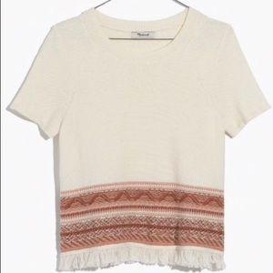 Madewell Fringe Sweater